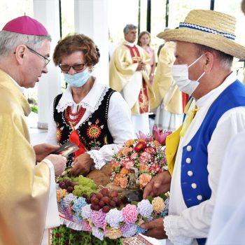 Odpust w Sanktuarium Przemienienia Pańskiego w Cmolasie