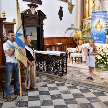 Nabożeństwo za ojczyznę w ramach rzeszowskiej pielgrzymki na Jasną Górę