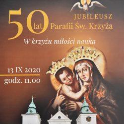 Jubileusz. 50 lat parafii św. Krzyża w Rzeszowie