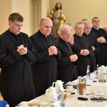 Kongregacja księży dziekanów w Instytucie Teologiczno-Pastoralnym w Rzeszowie