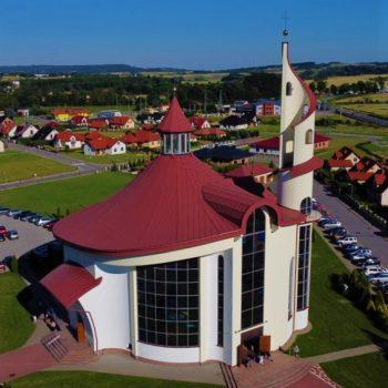 Konsekracja kościoła Miłosierdzia Bożego w Sędziszowie Małopolskim