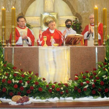 Abp Mokrzycki w parafii bł. Karoliny w Rzeszowie