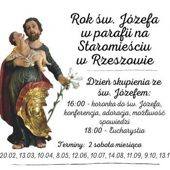 Dzień skupienia ze św. Józefem