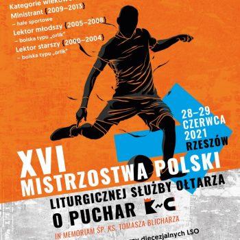 """XVI Mistrzostwa Polski LSO w Piłce Nożnej o Puchar """"KnC"""""""