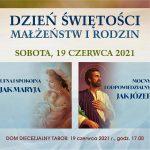 Beata i Marcin Mądrzy na Taborze. Dzień Świętości Małżeństw i Rodzin