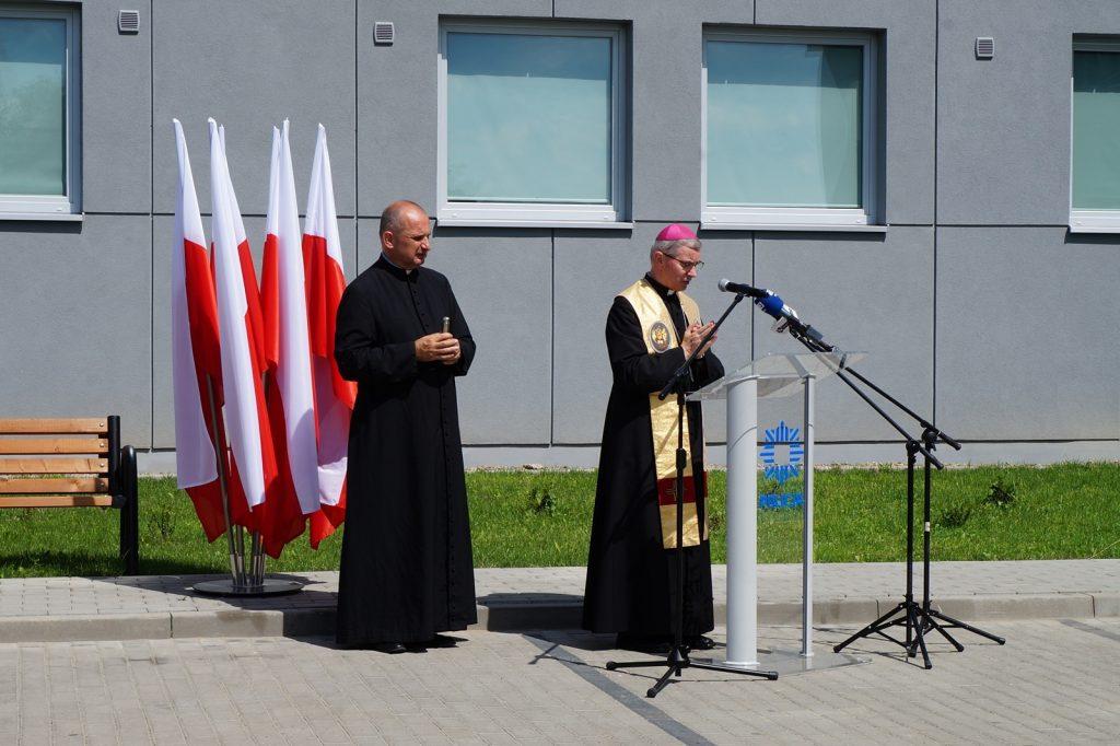 Biskup Wątroba poświęcił nowy budynek Komendy Powiatowej Policji w Jaśle