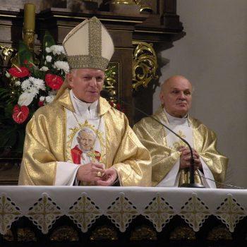 Wprowadzenie relikwii św. Jana Pawła II do kościoła pw. Wniebowzięcia NMP w Rzeszowie
